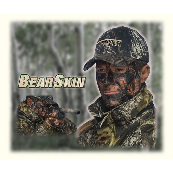 BearSkin Temporary Camouflage Tattoo