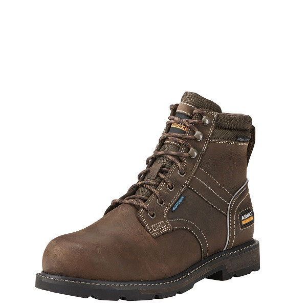 "Ariat Groundbreaker 6"" H20 En Iso Men's Boots"