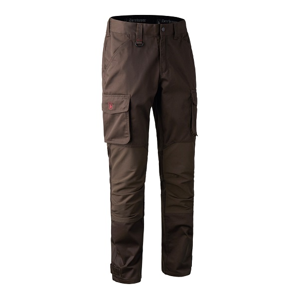 Deerhunter Rogaland Stretch Trousers - Brown Leaf