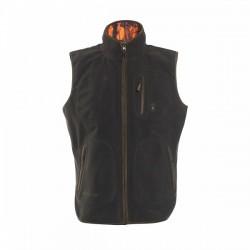 Deerhunter Gamekeeper Reversible Fleece Waistcoat
