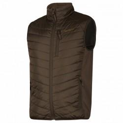 Deerhunter Moor Padded Waistcoat with Softshell