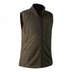Deerhunter Wingshooter Fleece Waistcoat - Graphite Green