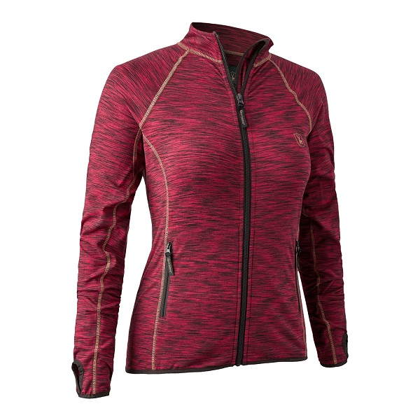 Deerhunter Lady Insulated Fleece - Red Melange