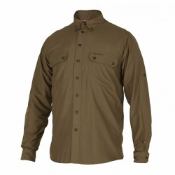 Deerhunter Reyburn Bamboo Shirt - Canteen