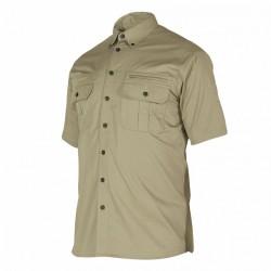 Deerhunter Caribou Hunting Shirt Short Sleeve- Chinchilla