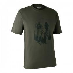Deerhunter T-Shirt with Shield