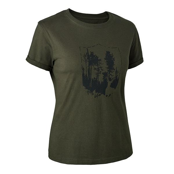 Deerhunter Lady T-Shirt with Shield