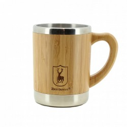 Deerhunter Bamboo Cup with Handle
