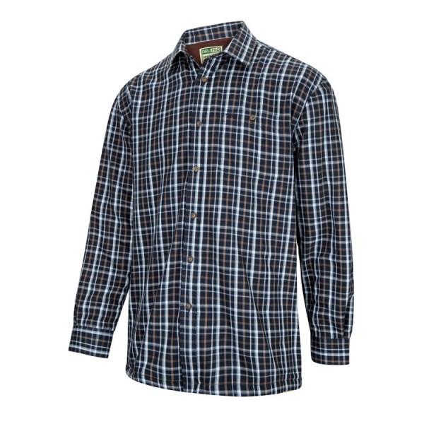 Hoggs of Fife Bark Micro-Fleece Lined Shirt