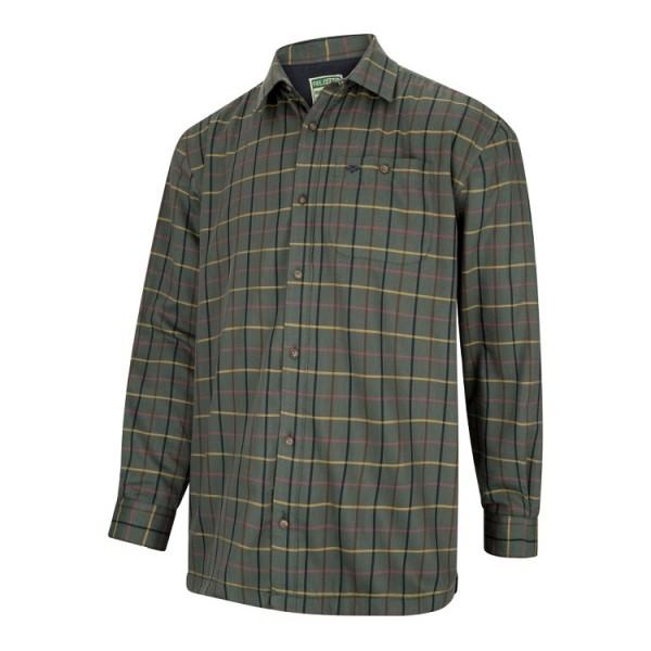 Hoggs of Fife Beech Micro-Fleece Lined Shirt