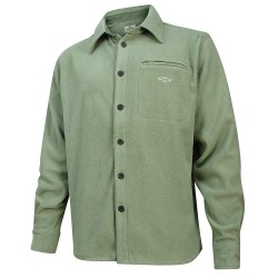 Hoggs of Fife Highlander Micro Fleece Shirt - Lovat