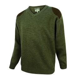 Hoggs of Fife Melrose V-Neck Hunting Pullover