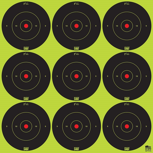 "Pro Shot Splatter Shot Peel & Stick Targets - 2"" 108 Qty Pack"