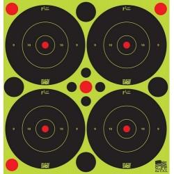"Pro Shot Splatter Shot Peel & Stick Targets - 3"" 48 Qty Pack"