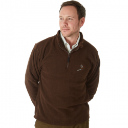 Sherwood Forest Hanford Fleece - Brown